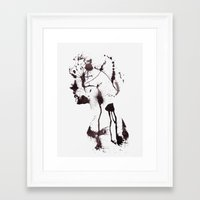 chaos Framed Art Prints featuring Chaos by Andreas Lie