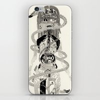 biology iPhone & iPod Skins featuring Soul Biology  by Ursula Hart