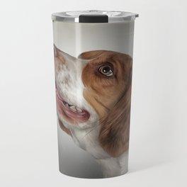 Drawing Dog Beagle Travel Mug