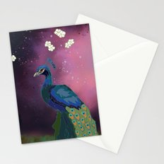Peacock Blossoms (part 1) Stationery Cards