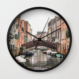 Venice bridge Wall Clock