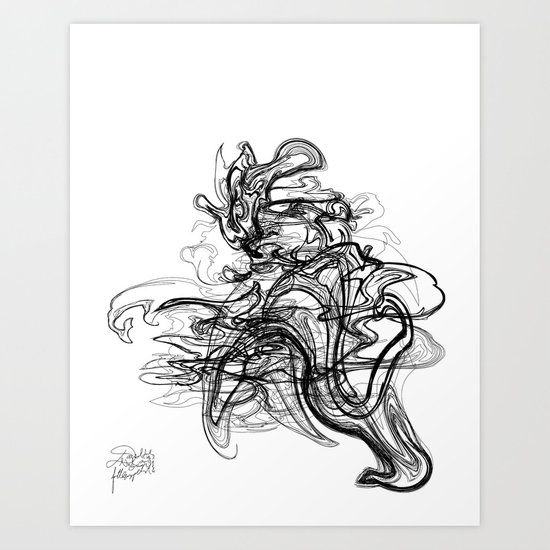 Kaiju /  Codename: fo4rfifteen. Art Print