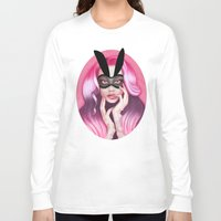 cherry blossom Long Sleeve T-shirts featuring Cherry Blossom by Wendy Stephens