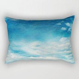deep blue /Agat/  Rectangular Pillow