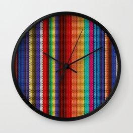Mexican Poncho Wall Clock