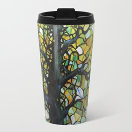 Stained Glass Tree #3 Travel Mug