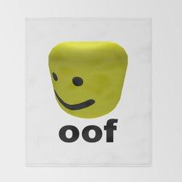 Roblox Oof - Roblox Throw Blanket