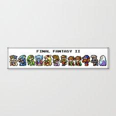 Final Fantasy II Characters Canvas Print