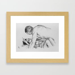 Irréversible Framed Art Print