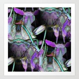 Alien Plant Life Art Print