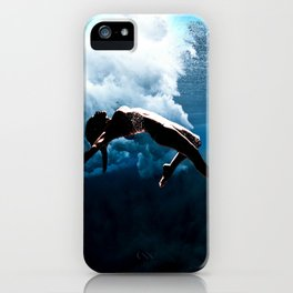 """Underwater Elegance"" by Barry James Lee iPhone Case"