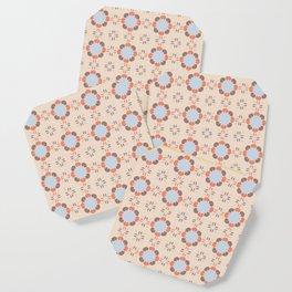 Blue Retro Tile Coaster
