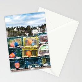 Lobster fishing season preparation Stationery Cards