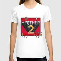 earthbound T-shirts featuring Alternative Mother 2 / Earthbound Title Screen by Studio Momo╰༼ ಠ益ಠ ༽