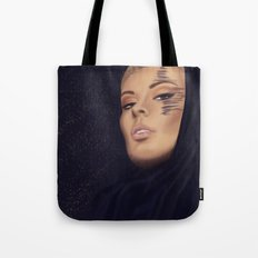 Golden Night Tote Bag