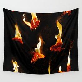Burn Wall Tapestry