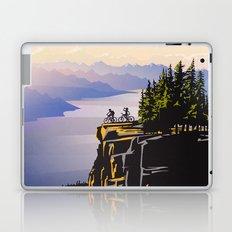 Retro travel BC poster Laptop & iPad Skin