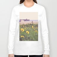 daisies Long Sleeve T-shirts featuring Daisies by AnchorMySoul