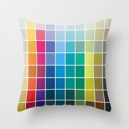Colorful Soul - All colors together Throw Pillow