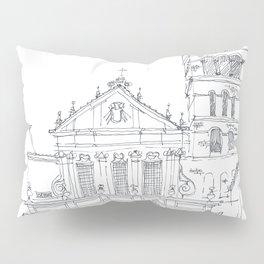 Basilica di Santa Cecilia in Trastevere Pillow Sham