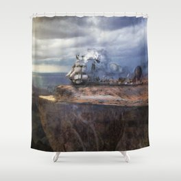 Prepare For Takeoff Shower Curtain
