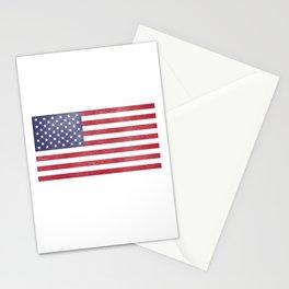 I Served I Stand for the National Anthem Design Veteran Image Stationery Cards