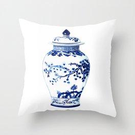 GINGER JAR NO. 3 Throw Pillow