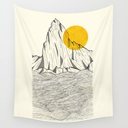 Sun Cliffs Wall Tapestry