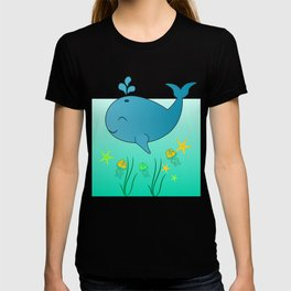 Happy baby whale T-shirt