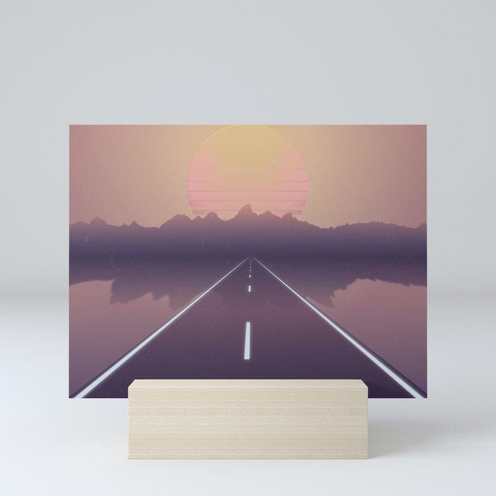 Outrun the Sun Mini Art Print