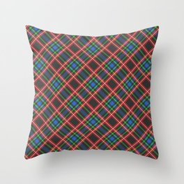 Scottish Tartan  Throw Pillow
