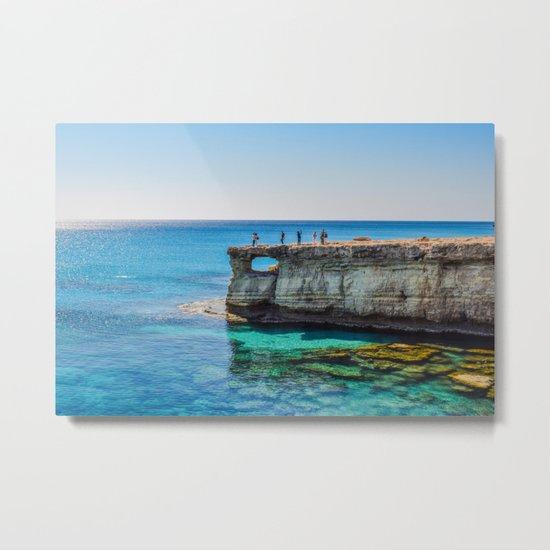 Cyprus Sea IV Metal Print