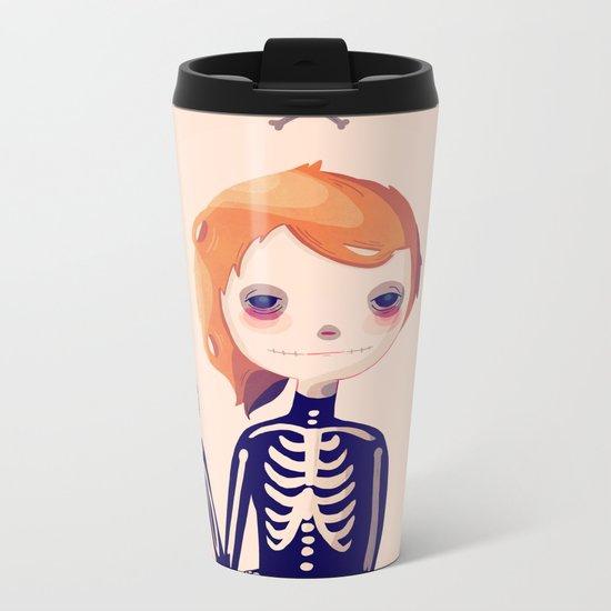 Bones Metal Travel Mug