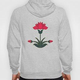 Mughal Flower Motif Hoody