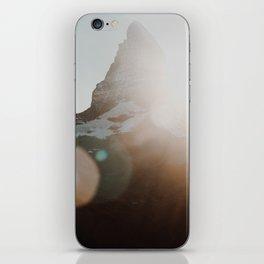Matterhorn glow.. iPhone Skin