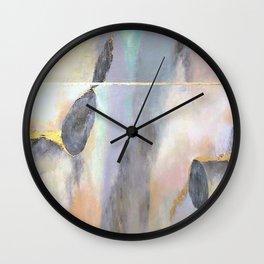 Irridescent Bloom Wall Clock