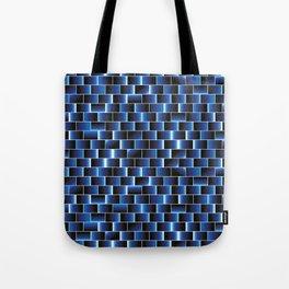 Blue set of tiles Tote Bag