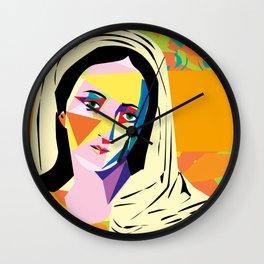 Oh Maria Wall Clock