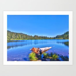 Rainer Summer Art Print