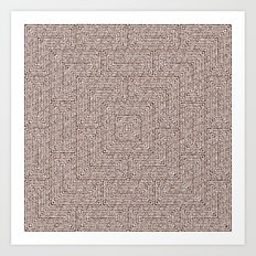 Bardarbunga Sepia Art Print