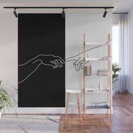 Hands of God and Adam- The creation of Adam Wall Mural