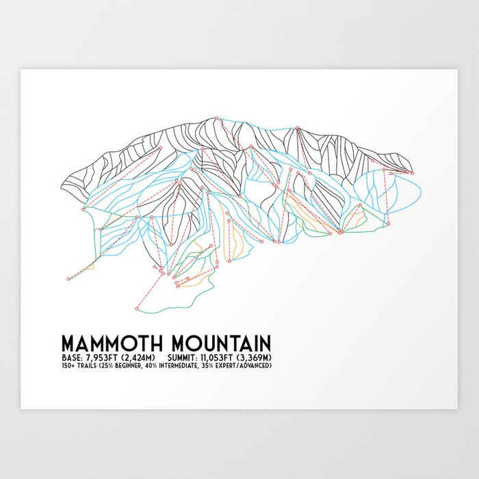 Mammoth Mtn Trail Map on mammoth sites in north america maps, mammoth california airport map, mammoth resort map, june mountain trail map,