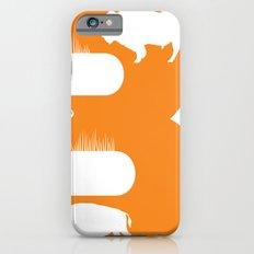 B is for Bison - Animal Alphabet Series iPhone 6s Slim Case