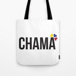 Chama lettering design Tote Bag