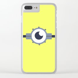 Minion Muggin' two Clear iPhone Case