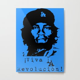 Yasiel Puig - Viva LA Revolucion! Metal Print