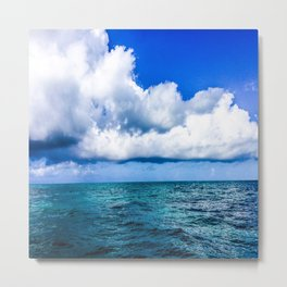 Out on the Open Sea Metal Print