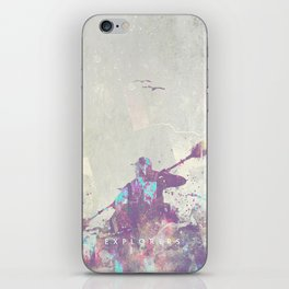 Explorers II iPhone Skin
