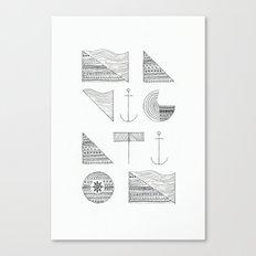 NAVIGATION Canvas Print