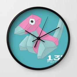 Pkmn #137: Porygon Wall Clock